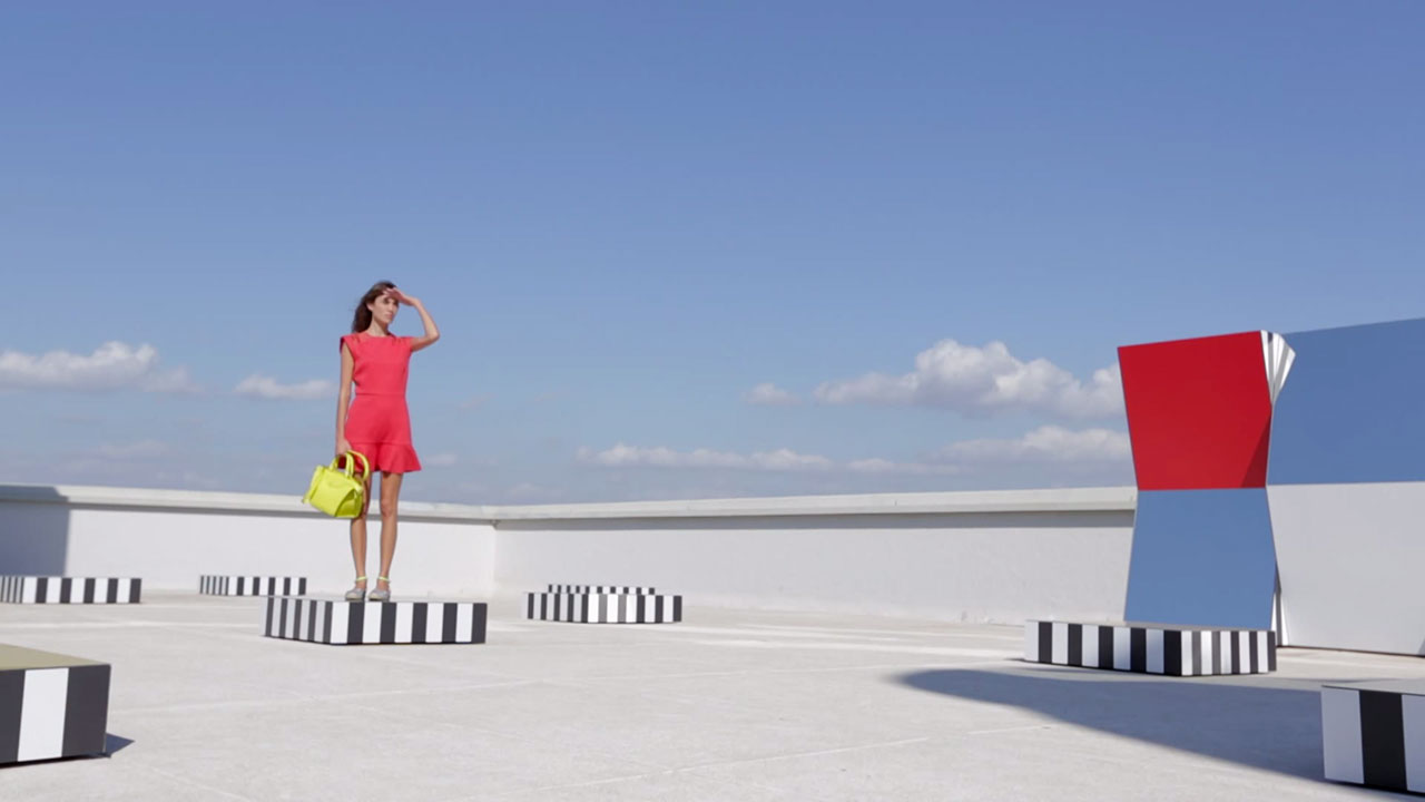 Alexa Chung Longchamp MAMO marseille Making Of