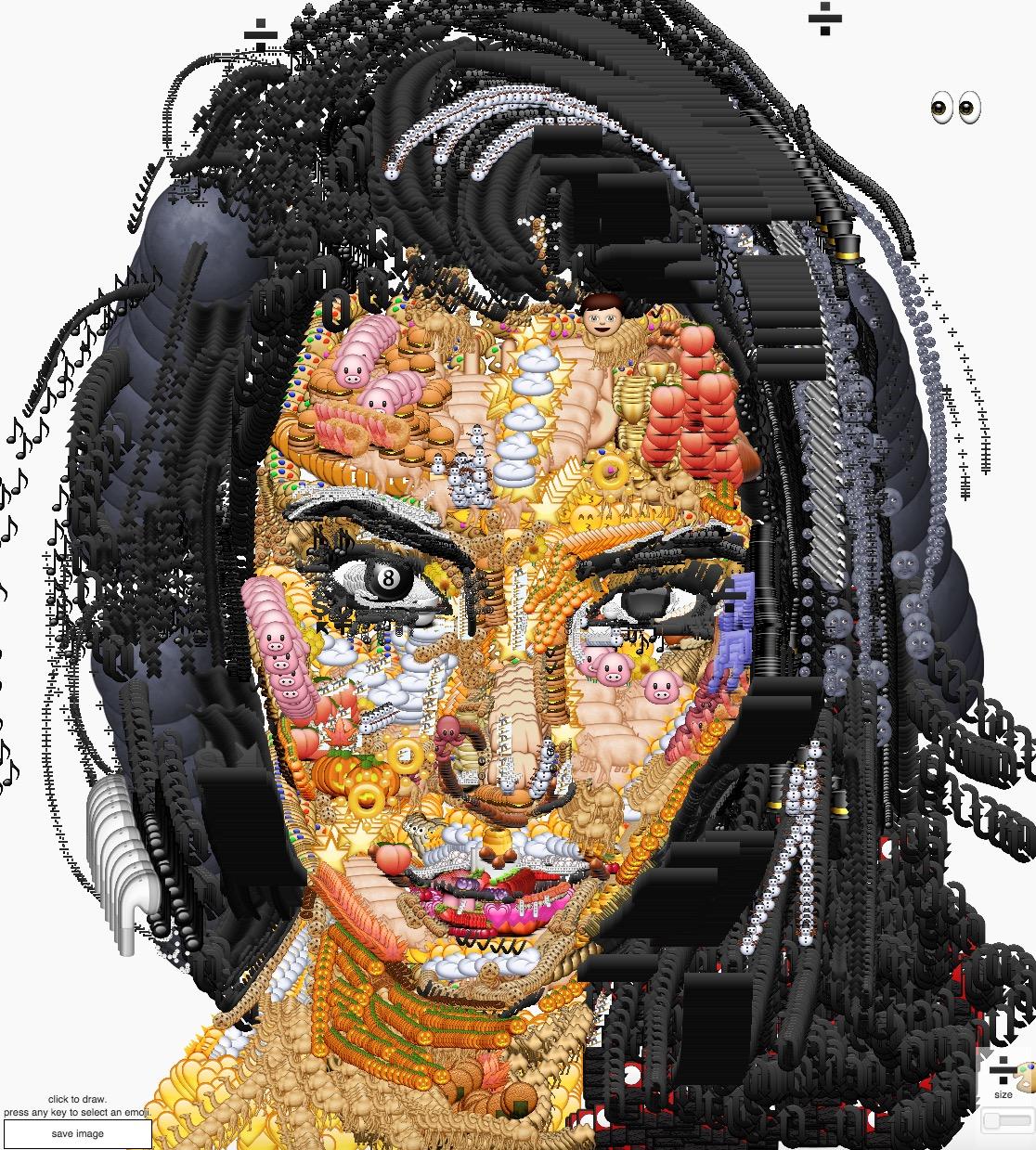 Yung Jake Kim Kardashian emoji