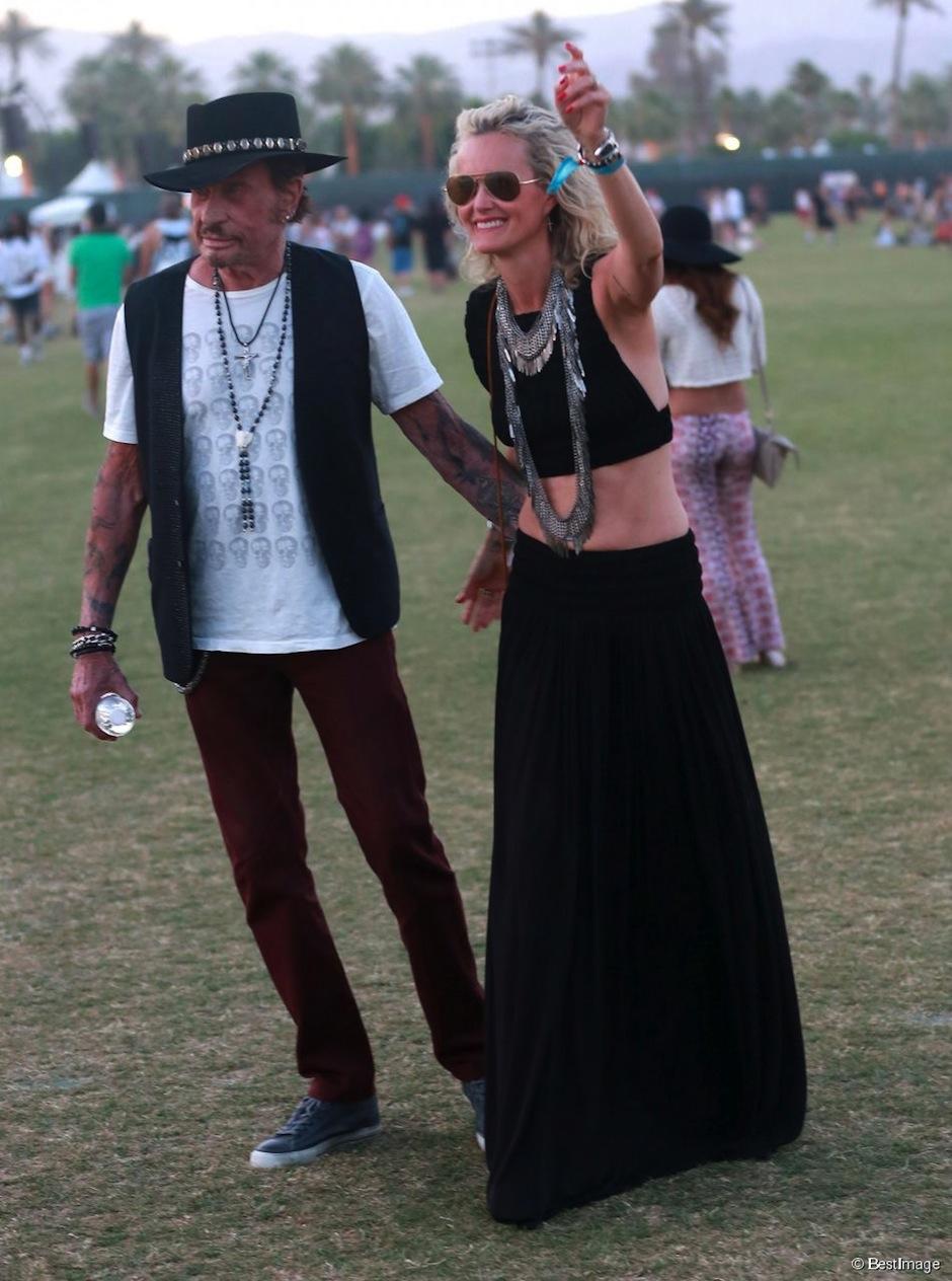 Johnny Hallyday Coachella 2015