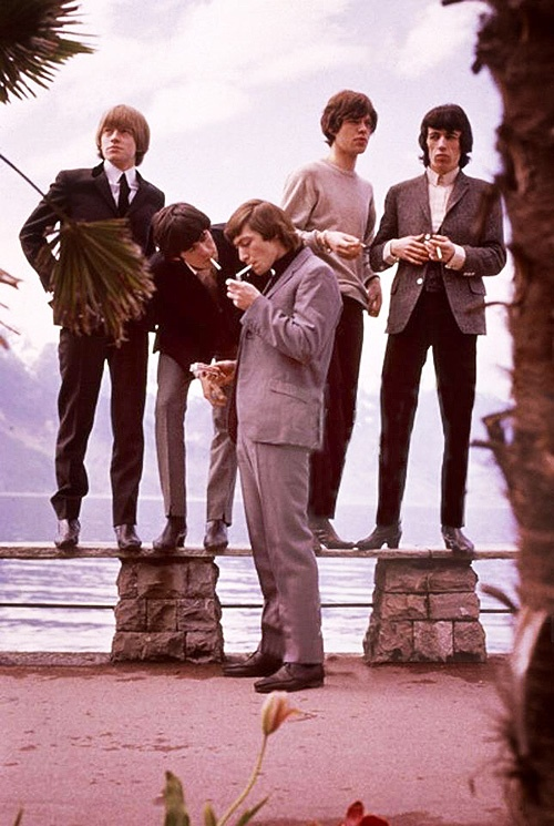 The Rolling Stones beach