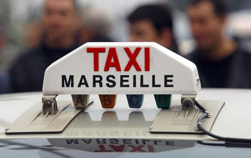 taxi-marseille-operation-escargot-manifestation-mobilisation-prix-carburant
