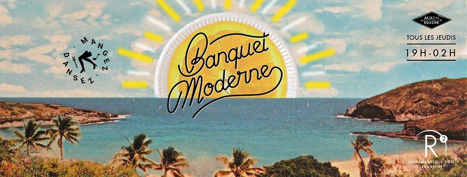 Banquet moderne Marseille