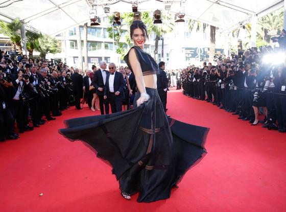 Kendall Jenner cannes 2015 Azzedine Alaïa