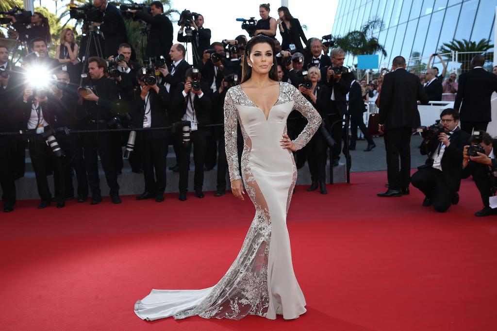 eva-longoria Cannes 2015 Gabriela Cadena