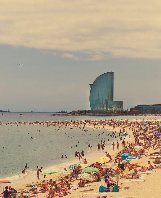 Barceloneta playa