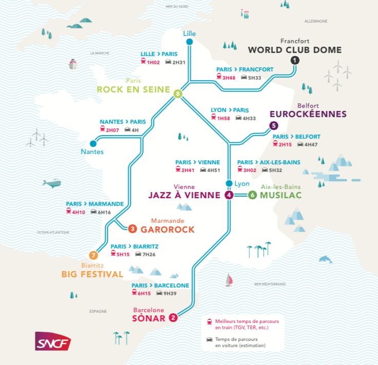 SNCF FESTIVALS ETE 2015