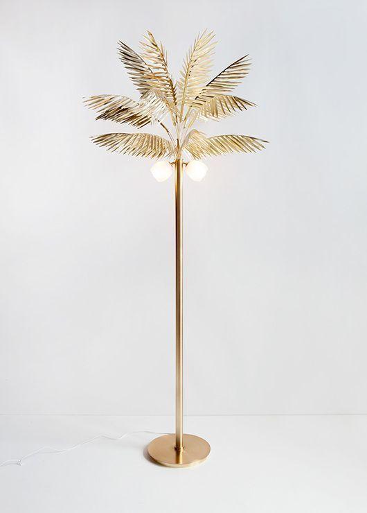 palmtree lamp