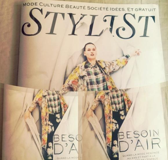 revue de presse stylist nouveau magazine gratuit madmoiselle julie. Black Bedroom Furniture Sets. Home Design Ideas