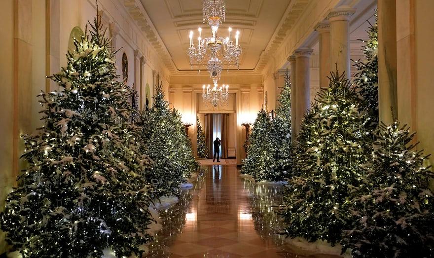Les Fabuleuses Décorations De Noël De La Maison Blanche